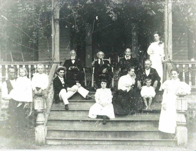 James Cain Little and family