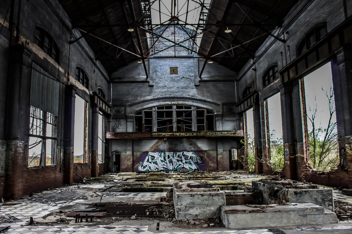 Steel Works Abandoned Southeast