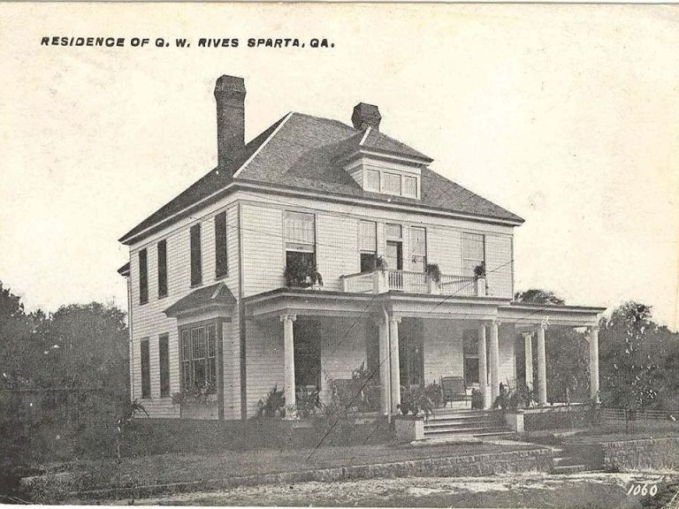 G W Rives House